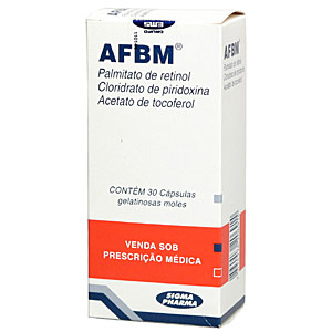 Afbm 5000 Ui + 100 + 300 Mg 30 Caps