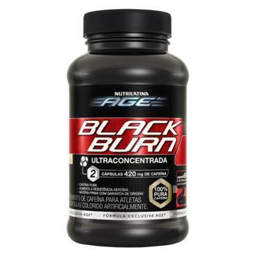 Age Black Burn Caps X 60