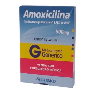 Amoxicilina 500 Mg 15 Caps