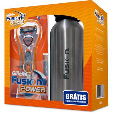 Aparelho Fusion Power 6lam 1 Unidade + Gel De Barbear 71g