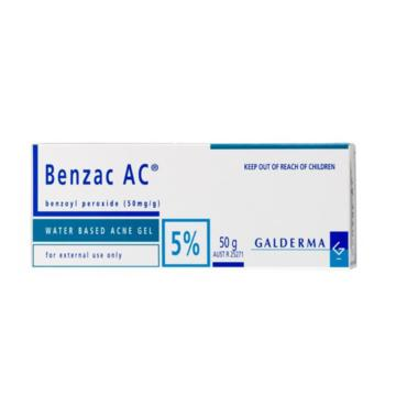 Benzac Ac 5% Gel C/60 Gr