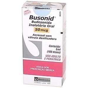 Busonid Aerossol Oral 50 Mcg Aerosol 5 Ml (100 Dos)