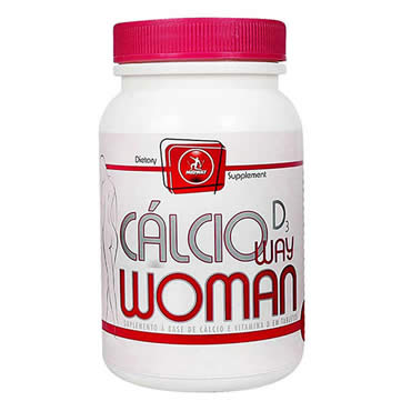 Cálcio Woman Way D3 100 Tabs
