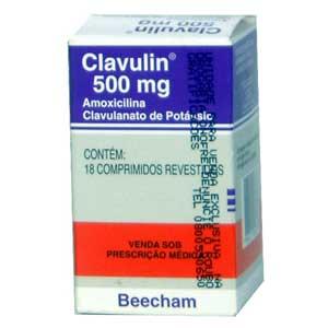 Clavulin 500 Mg 18 Cprs