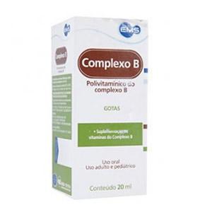 Complexo B Solução Oral 20 Ml
