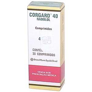 Corgard 40 Mg 30 Cprs