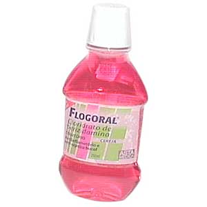 Flogoral 250 Ml Cereja