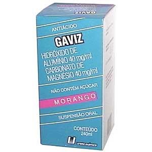 Gaviz Suspensão 240 Ml Morango