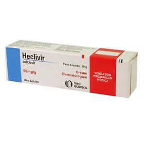 Heclivir 50 Mg Creme 10 G