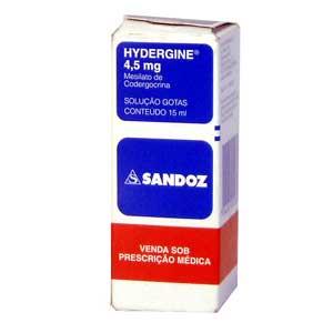 Hydergine 4,5 Mg Solução Oral 15 Ml