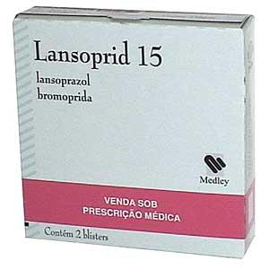 Lansoprid 15 + 10 Mg 14 + 21 Cap
