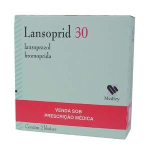 Lansoprid 30 + 10 Mg 14 + 21 Cap