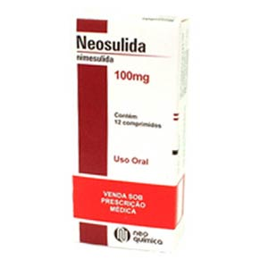 Neosulida 100 Mg 12 Cprs