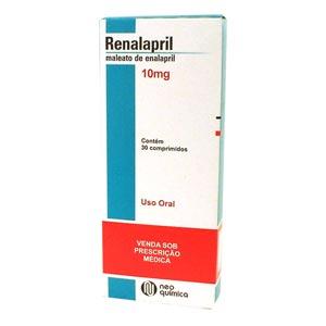 Renalapril 10 Mg 30 Cprs