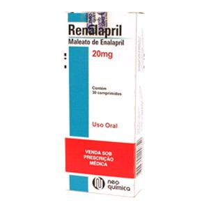 Renalapril 20 Mg 30 Cprs