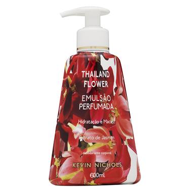 Sabonete Kevin Nichols Thailand Flower Liquido 600ml