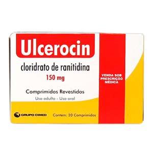 Ulcerocin 150 Mg 20 Cprs