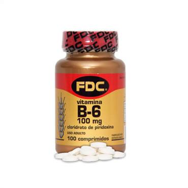 Vitamin B-6 100 Mg Com 100 Cprs