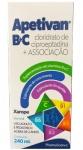 Apetivan B + C Solução Oral 240 Ml