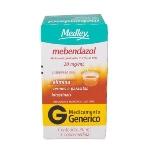 Mebendazol 20 Mg/Ml Sus Or Ct Fr Vd Amb X 30 Ml + Dos