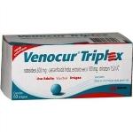 Venocur Triplex 100+300+150mg C/6 Bl X 10 Drg