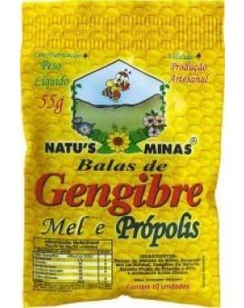Bala Natus Minas Gengibre 38g