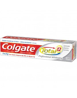 Creme Dental Colgate Total 12 Whitening 180g