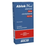 Ablok Plus 25 + 12,5 Mg 30 Cprs