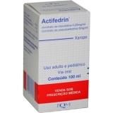 Actifedrin 6 + 0,25 Mg Xarope 100 Ml