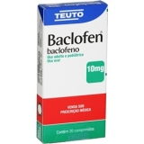 Baclofen 10 Mg 20 Cprs