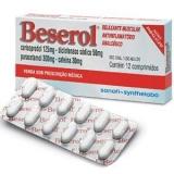 Beserol 300 + 125 + 50 + 30 Mg 12 Cprs