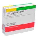Buscopan 20 Mg Injetável 5 Amp X 1 Ml