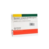 Buscopan Composto 2,5 + 20 Mg Injetável 3 Amp X 5 Ml