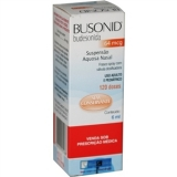 Busonid Aquoso Nasal 64 Mcg Suspensão 6 Ml (120 Dos)