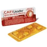 Cafilisador 500 Mg C/25 X 4 Cpr