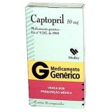Captopril 50 Mg 30 Cprs
