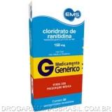 Cloridrato De Ranitidina 150 Mg C/5 Stp X 4 Cpr