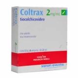 Coltrax 2 Mg Solução Injetável 3 Amp X 2 Ml