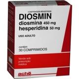 Diosmin 500 Mg 30 Cprs