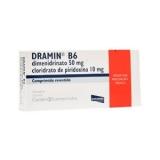 Dramin B6 50 + 10 Mg 30 Cprs