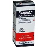 Fungirox 10 Mg Solução Tópica 15 Ml