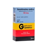 Levotiroxina Sodica 100 Mcg 30 Cprs