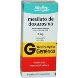 Mesilato De Doxazosina 2 Mg 30 Cprs