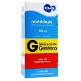 Metildopa 500 Mg C/3 Bl X 10 Cpr