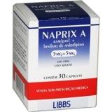 Naprix A 5 + 5 Mg 30 Caps