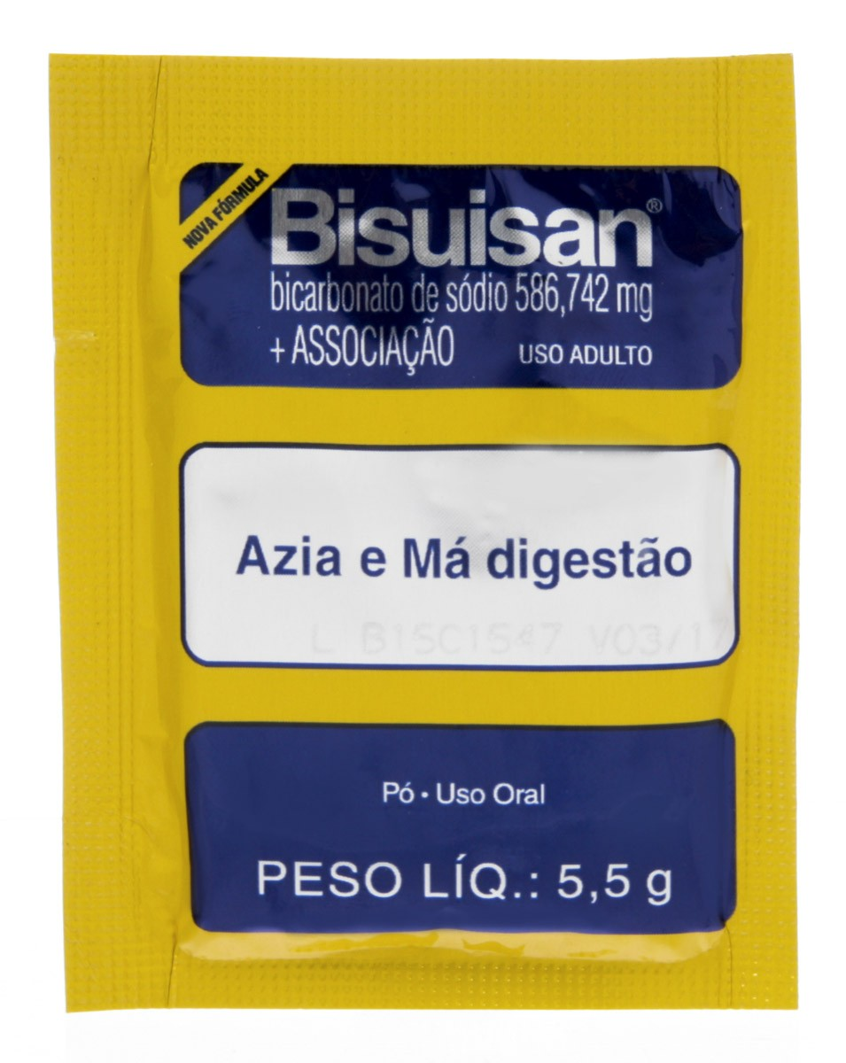 Bisuisan 1 Envelope Anti Acido 5 G