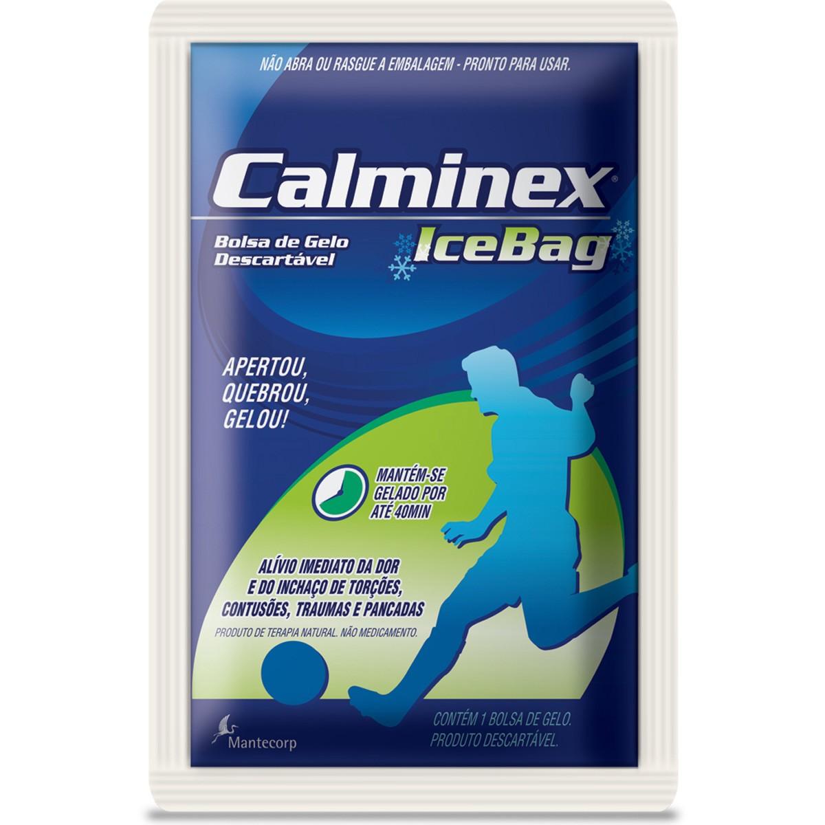 Calminex Ice Bag Analgesico Bolsa Termica De 284g