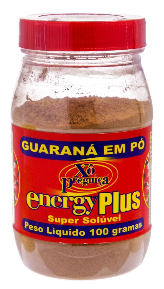 Energy Plus Guarana Com 100 G