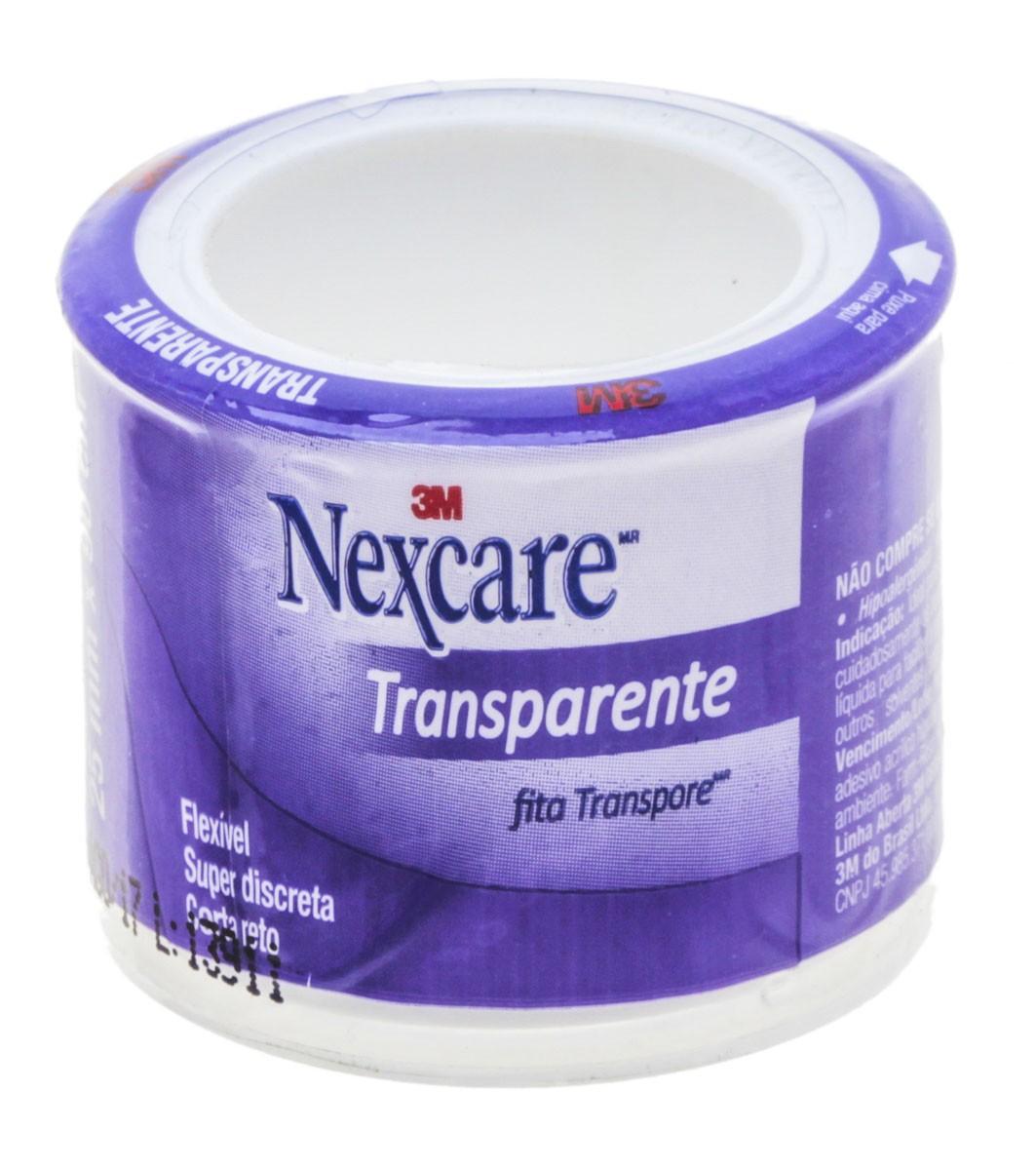 Esparadrapo Nexcare Transparente 25x0,9