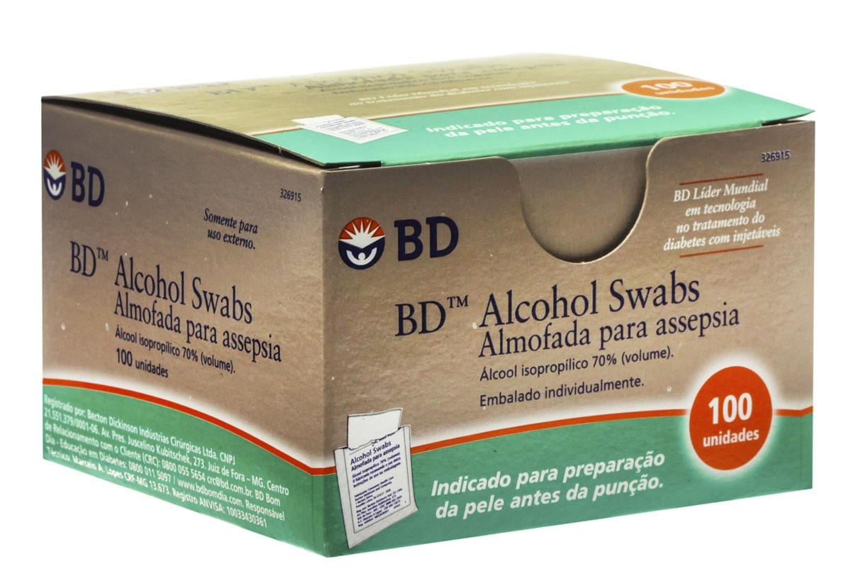 Gaze Embeb Em Alcool Bd 1 Unidade